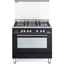 Delonghi Professional Gas Cooker Elegance Series Black - PEMA-9651)