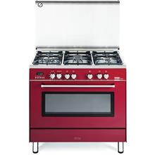 Delonghi Professional Gas Cooker Elegance Series Red - PEMR-9653)