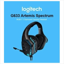 Logitech G633 Artemis Fire RGB Wired 7.1 Surround Sound Gaming Headset