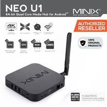 MINIX NEO U1 Quad-core Android 4K UHD IPTV Smart TV BOX (Original)