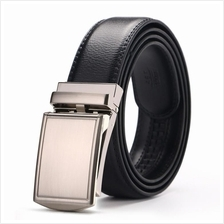 DOULILU Men Leather Automatic Buckle Waist Belt Tali Pinggang 222
