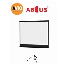 Abtus KTC88 96 x 96 ( 8 x 8 feet ) Tripod Projector Screen