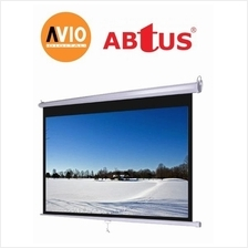 Abtus KWC1010 120 x 120 ( 10 x 10 feet ) Wall Projector Screen