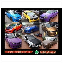 CAR WRAP N TINT SERVICES (WRAP KERETA) - WHOLE BODY OR PARTIAL