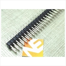 40Pin Male PCB Double Row Straight Header Strip Connector 2x40 Arduino