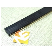 40Pin 2.54mm Single Row Straight Female Pin Header Strip 1X40 Ardunio