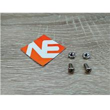 2set M3 Screw And Nut