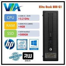 Refurb HP EliteDesk 800 G1 Core i5-4570/4GB/500GB/W10