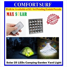 MaxSolar SL031 Portable Outdoor Camping Garden Yard Lamp Light 25 LEDs