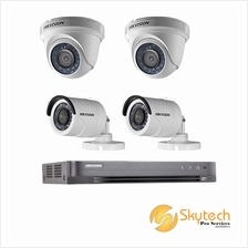 HIK VISION 4CH HD SET ANALOG