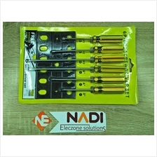 6 Piece Screwdriver Set Free Storage Rack