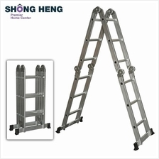 Aluminium Multi-Purpose Ladder 12 Steps EN131-MF-CLA403