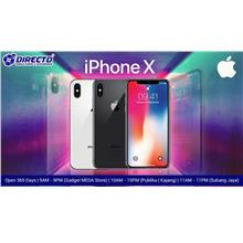 Apple Iphone X (64GB/3GB)  -  Original by Apply Malaysia !!