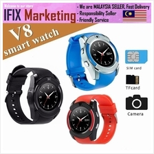 V8 Smartwatch (Life waterproof) Sim Card Support/Bluetooth/MMC Card