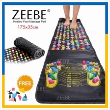 ZEEBE Foot Massage Walking Mat Pad Long Reflexology Acupressure