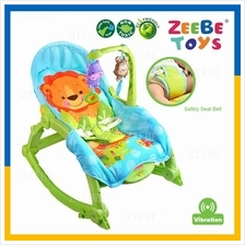 ZEEBE Baby Rocker Bouncer New Born Toddler Music Chair Safety Belt 09
