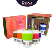 🎁 Delica Gift Box- 3-flavor coffee total 15 sachets, Travel Mu..)