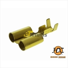 2 Way Bullet Brass Terminal Clip Wire Pin (20PCS)