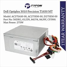 Dell Optiplex 3010 7010 9010 Precision T1650 MT Power Supply PSU 275W