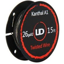 UD Kanthal A1 Twisted Wire Size 26gax2 Atomizer DIY Vape Coil