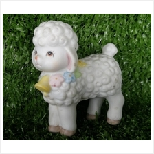 PORCELAIN HAND PAINTED DECORATION STATUE ANIMALS GIFT SS117