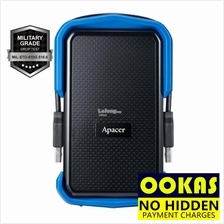 APACER AC631 USB 3.1 1TB/2TB IP55 Rugged External Hard Disk Drive