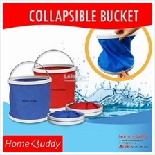 HomeBuddy Collapsible Water Bucket/Foldable Water Bucket (9 Litre)