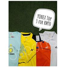 YONEX TOPS, 3 for RM90
