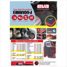 Perodua Axia EVA Customized Odor-Free Anti-Bacterial Car Floor Mats W