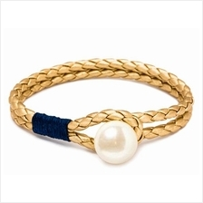 Kiel James Patrick PEARL KNOT NAVY & GOLD)