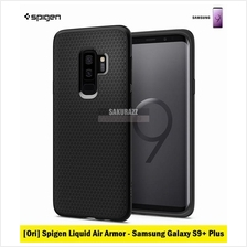 [Ori] Spigen Liquid Air Armor Series Samsung Galaxy S9 Plus (Black)