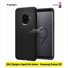 [Ori] Spigen Liquid Air Armor Series Samsung Galaxy S9 (Black)