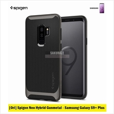 [Ori] Spigen Neo Hybrid Series for Samsung Galaxy S9 Plus (Gunmetal)