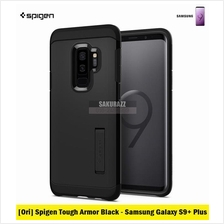 [Ori] Spigen Tough Armor Series for Samsung Galaxy S9 Plus (Black)