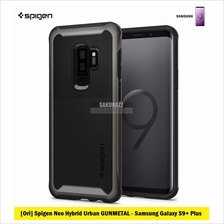 [Ori] Spigen Neo Hybrid URBAN for Samsung Galaxy S9 Plus (Gunmetal)