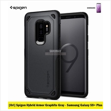 [Ori] Spigen Hybrid Armor Series for Samsung Galaxy S9 Plus (Graphite)