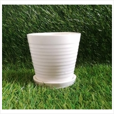 HEIGHT 10CM PORCELAIN POT 053 FOR PLANTS SUCCULENT CACTUS PASU