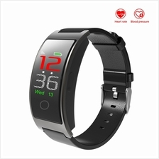 CK11C Blood Pressure Heart Rate Monitor IPS Color Screen Bluetooth Sma
