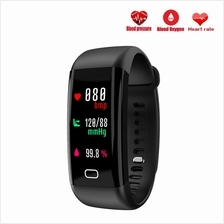 F07 Blood Pressure Heart Rate Monitor OLED Color Screen Bluetooth Smar