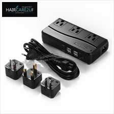 BESTEK Universal Travel Adapter 220V to 110V Voltage Converter (Black)