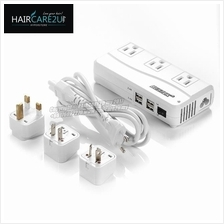 BESTEK Universal Travel Adapter 220V to 110V Voltage Converter (White)