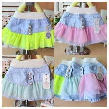 Baby Clothes Baby Skirt Lace Skirt BBV-11)