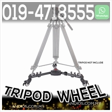 Yunteng 900 Foldable Tripod Dolly Wheel Video Photo Photography Shoot