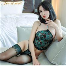 AQL025 SEXY STOMACHERS SET - Sexy Lingerie Women Fashion