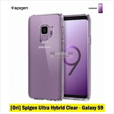 [Ori] Spigen Ultra Hybrid Series for Samsung Galaxy S9 (Clear)