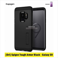 [Ori] Spigen Tough Armor Series for Samsung Galaxy S9 (Black)