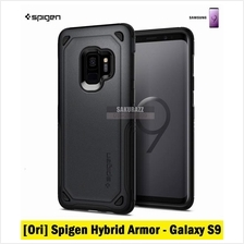[Ori] Spigen Hybrid Armor Series for Samsung Galaxy S9 (Graphite)