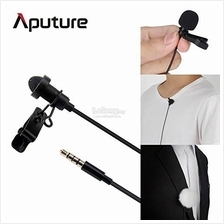 Aputure A.lav Omnidirectional Lavalier microphone used with mobilereco