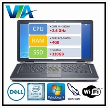 Refurb Dell Latitude E6230 Core i5/4Gb/320Gb/Win7/12.5''