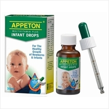 Appeton MultiVitamin Plus Infant Drops 30ml - 16% OFF!!